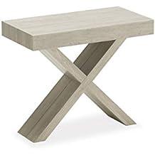Tavoli Pieghevoli Allungabili Configurazione Variabile.Amazon It Tavolo Consolle Allungabile