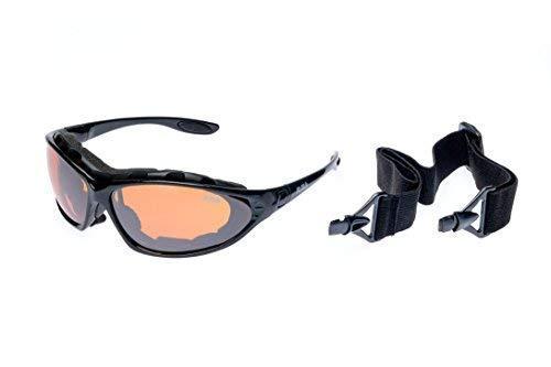 Ravs Schutzbrille Sportbrille Sport Sonnenbrille Kontrastverstärkt für Allwetter geeignet