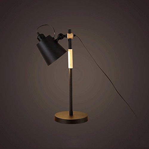 escandinavo-moderna-simple-de-madera-luz-dormitorio-cama-cama-de-hierro-libro-lampara-de-decoracion-