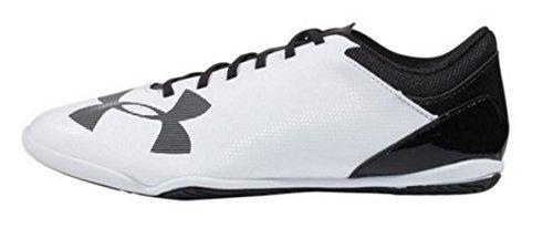ht In Jr - white, Größe #:2 (Under Armour Fußball Indoor Schuhe)