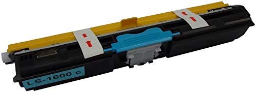 Bubprint Toner kompatibel für Oki 44250723 für Oki C110 C130N C130 N MC160N MC 160N 2.500 Seiten Cyan/Blau