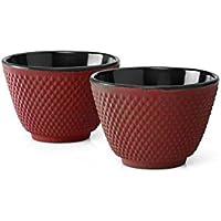 Bredemeijer XiLin Tazas de té, Color Rojo