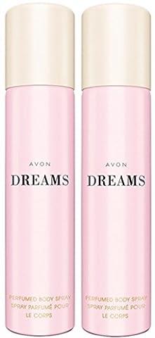 1a AVON Deo-Set --- DREAMS ---parfümiertes Körperspray --- 2x 75ml