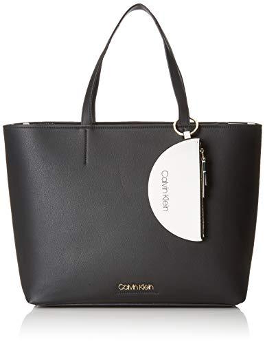 7cf2c3c0b1b5e3 Calvin Klein Ck Must Large Shopper - Borse Tote Donna, Nero (Black),