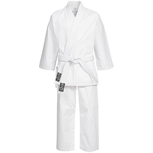 Fightclub Karateanzug / Kimono / Gi inkl. Gürtel / GRÖßENAUSWAHL (140)
