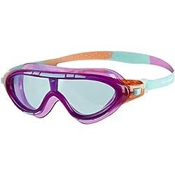 Speedo Biofuse Rift Gafas de Natación, Unisex niños, orquídea/Coral Suave/Menta, Talla Única