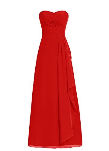 Dresstells, robe de soirée, robe longue de cérémonie, robe de demoiselle d'honneur Raisin