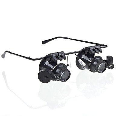 Vergrößerungsglas 20 mm Lupen/Lupe Gläser Generika Headset/Eyewear Schmuck Geld Detektor Uhr Reparatur Ausrüstung & Werkzeuge Allgemeine Verwendung Multi-Coated