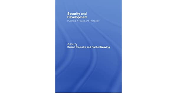 Security and development investing in peace and prosperity placemark investments aum water