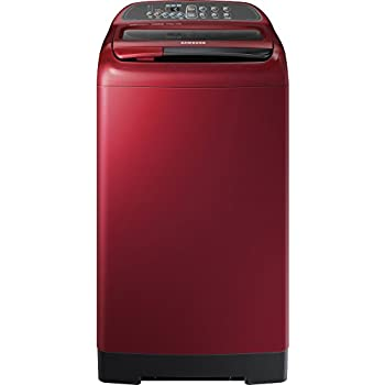 Samsung 7 kg Fully-Automatic Top Loading Washing Machine (WA70K4000HP, Scarlet Red)