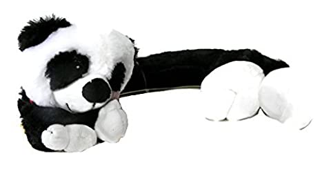 Cozy Hugs Microwavable Aromatherapy Hot Cold Curved Neck Wrap Panda by Cozy Hugs