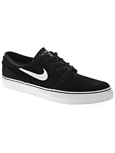 Nike Stefan Janoski (Gs), Scarpe da Skateboard Bambino, Nero, 36.5 EU Nero/bianco/marrone (Black/White-Gum Med Brown)