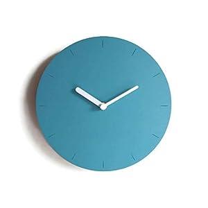 28cm Kleine hölzerne ruhige wanduhr ohne tickgeräusche in vielen farben wie türkis blau Keine tickenden wanduhren…