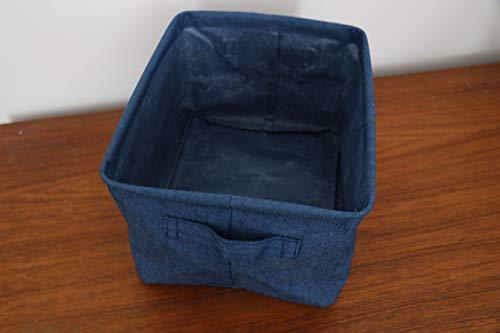 Compactor Home ran8620Aufbewahrungskorb, Jean, blau, 25x 20x 15cm