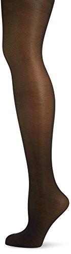 KUNERT Damen Glanz Fein Strumpfhose, 334600 Leg Control 40, Gr. 40/42, Schwarz (Black 0500)