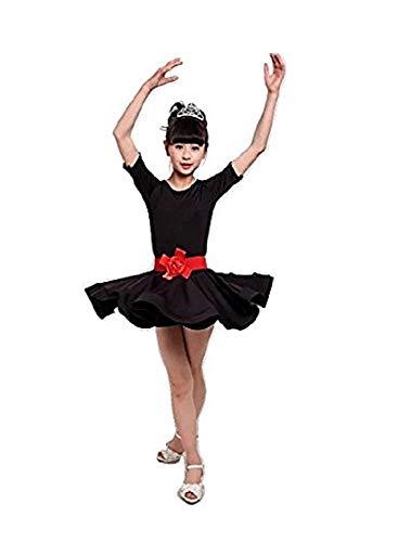 Vestito da ballo per bambini Balletto Latin Rumba Samba Dress Gonne  Dancewear Girls Kids 3 - f63f95275cf
