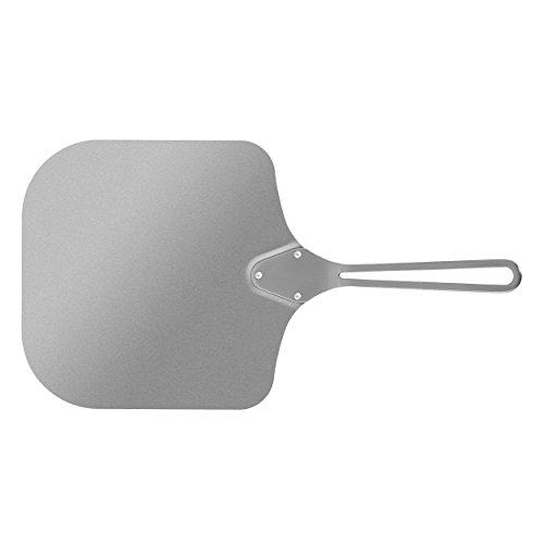 Jamie Oliver BBQ Premium Pizzaschaufel, Ofenschaufel, Brotschieber, Pizzaheber, Flammkuchenschaufel, Grill Zubehör, Edelstahl, 554166