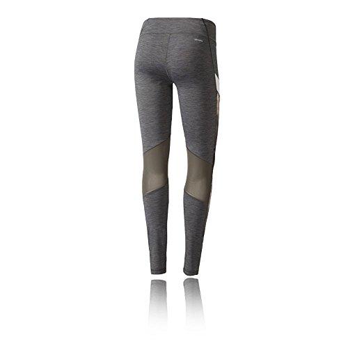 Adidas Wow Drop 4 Tigh, Leggings Donna Grigio (Brgros/Print)