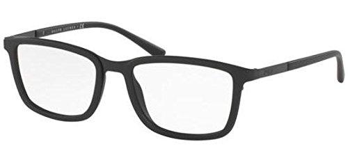 Preisvergleich Produktbild Polo Ralph Lauren - PH 1167,  Rechteckig,  Metall,  Herrenbrillen,  SHINY BLACK(9001 Y),  53 / 17 / 140