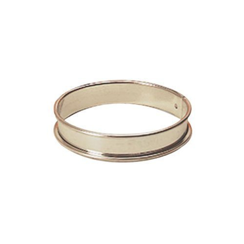 Paderno World Cuisine 8 5/8 Inch by 3/4 Inch Tart Pastry Ring by Paderno World Cuisine Tart Pastry Ring