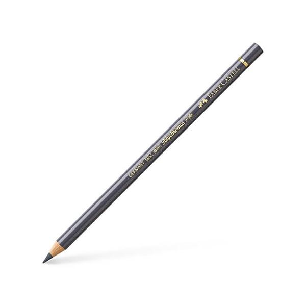 Faber-Castell Polychromos 110234 Oro, Gris 1pieza(s) laápiz de color – Lápiz de color (1 pieza(s), Fijo, Oro, Gris…