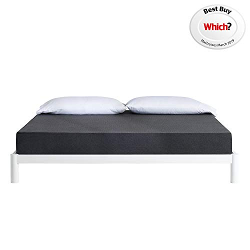 The Essential Casper Mattress - Double Memory Foam Mattresses with Zoned Support System | Made in the UK - Award Winning Quality and Comfort - 10-Year Warranty | Size - Mattress Double Bed Best Price and Cheapest