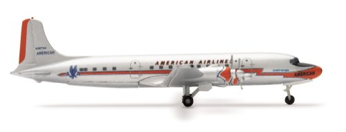 herpa-wings-american-airlines-dc-6-model-airplane-toy-japan-import