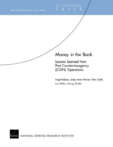 Money in the Bank: Lessons Learned from Past Counterinsurgency (COIN) Operations by Angel Rabasa (2007-08-01)