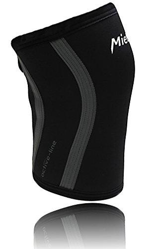 Preisvergleich Produktbild Mietek Active - die unterstützende und anatomische Kniebandage - 5mm Neopren - Kniestütze für jeden Sport / schützen,  wärmen und stabilisieren für gesunde Knie (XL)