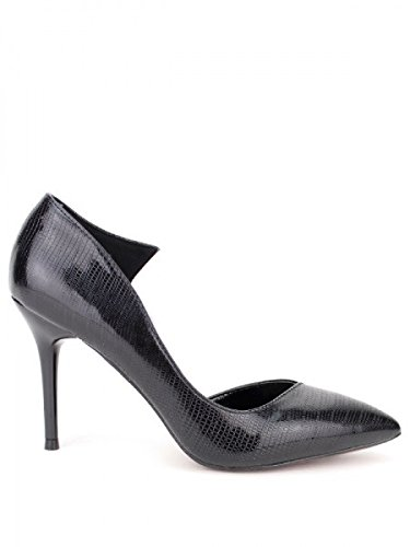 Cendriyon, Escarpin verni noir DAYNE Chaussures Femme Noir