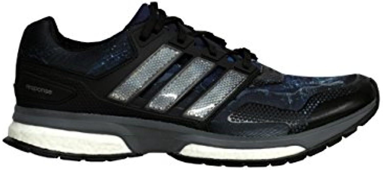 adidas Response 2 Graphic - Zapatillas de Running de Sintético Para Hombre Negro Negro