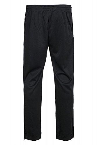 Kappa Colliano-Pantaloni sportivi da uomo nero