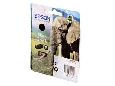 Epson Expression Photo XP-55 (24XL / C 13 T 24314010) - original - Tintenpatrone schwarz - 500 Seiten - 10ml -