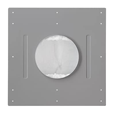 Leviton AEBC6 Fire-Rated Back Box for AEC65 Ceiling Speaker, Gray