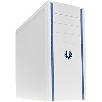BitFenix Shinobi Midi-Tower PC-Gehäuse (micro ATX, USB 3.0) weiß/blau