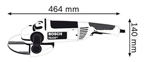 Bosch Professional Großer Winkelschleifer GWS 24-230 JH