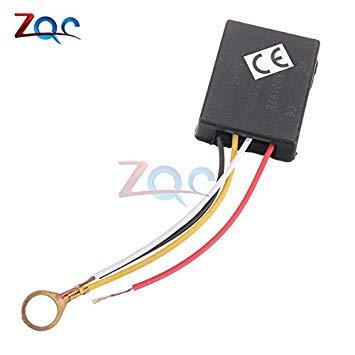 Sellify Piezas de luz de CA 220V 1ATable ON OFF 1 sensores Touch Control Camino de piezas/luz del escritorio táctil para interruptor de la lámpara del bulbo
