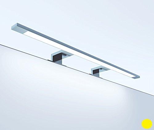 LED Badleuchte Spiegelleuchte 230V ; 13.8W ; warmweiss / neutralweiss ; alu eloxiert