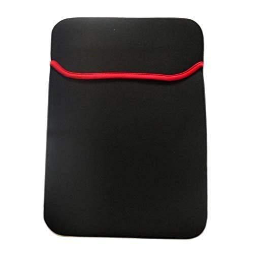 G&D Schlanker, weicher, reversibler, voll gepolsterter Hülle aus Neopren für 15,6-Zoll-Laptop (schwarz)