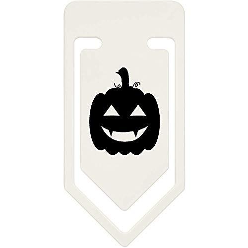 Azeeda 91mm 'Halloween-Kürbis' Große Plastik Büroklammer (CC00040537)