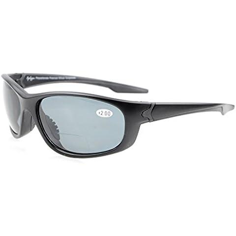 Eyekepper TR90 Infrangibile Sport occhiali da sole bifocale Baseball in esecuzione Guida Golf Softball escursioni di pesca