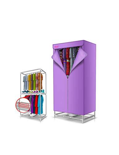 Changlifeng Secadora rápida de Ropa, calefacción, Secadora eléctrica, Secadora de bajo Consumo de Tipo doméstico. (Color : Purple)