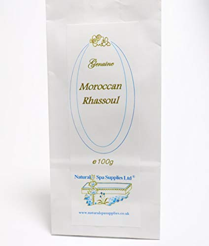 100g Rhassoul, Ghassoul Moroccan Mineral Clay Powder, for Washing Hair, Face and Body. Pure and additive free.