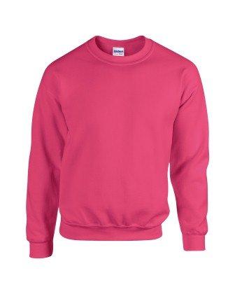 Gildan 18000Heavy Blend Erwachsene Rundhals Sweatshirt Gr. X-Large, Heliconia