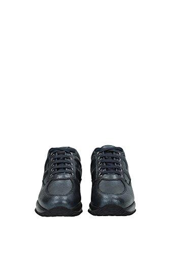 HXW00N0001097ZB999 Hogan Sneakers Damen Leder Grau Grau