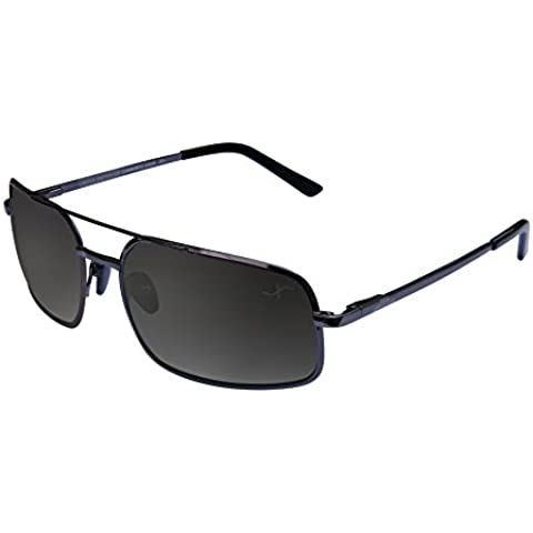 Xezo Air Commando de hombre - Gafas de sol de titanio polarizadas. Un excelente accesorio para conducir, jugar a golf o ir en bicicleta.