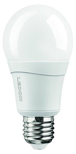 Ledon LED Lampe A60 10.5W - Ersatz für 60W Glühbirnen, warmweiß - 2700K, E27, beste Farbwiedergabe 29001026