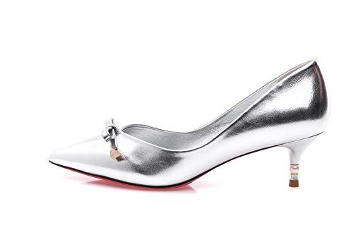 Silver 0evs7q Femme Escarpins Adee Pour 8wTx1gPP