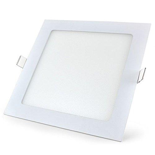Mazda LED Panel 18W Ceiling Light (White, Square)