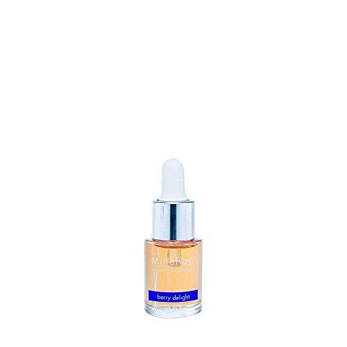 Millefiori Milano Baies de Délice Parfum d'Intérieur Soluble dans l'Eau Natural, Verre, Violet, 5,5 x 11,8 x 5,3 cm